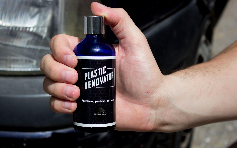 Plastic Renovator - Освежител за пластмаса - Лайсни под фарове