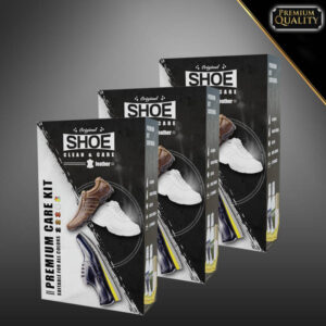Shoe Clean & Care x3