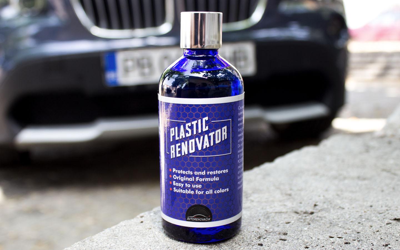 Plastic Renovator - Освежител за пластмаса - Снимка бмв